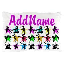 SUPER STAR GYMNAST Pillow Case http://www.cafepress.com/sportsstar/10114301  #Gymnastics #Gymnast #IloveGymnastics #Gymnastgifts #WomensGymnastics #Personalizedgymnast #Gymnastinspiration