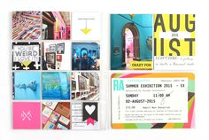 Project Life | Summer Exhibition by ems_13 at @studio_calico