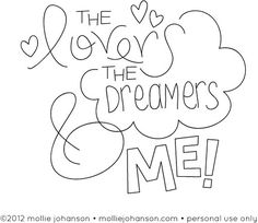 The Lovers, the Dreamers & Me