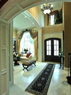 gorgeous entryway ~Live The Good Life - All about Wealth & Luxury lifestyle