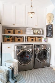 Best Small Laundry Room Design and Decor Ideas - Page 11 of 44 Room, Room Design, Laundry Mud Room, Home Decor, Rustic Living Room Furniture, Room Decor, Small Laundry Room Makeover, Laundry, Living Room Themes