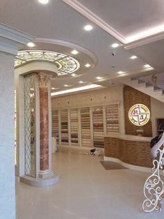 Витраж Тиффани потолок студия милли-м в обойный магазин