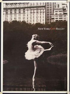 new york city ballet posters vintage - Vintage Poster Designs Ballet Decor, Ballet Room, Ballet Dance, Old Movie Posters, Vintage Posters, Everybody Dance Now, Ballet Posters, Trip The Light Fantastic, Vintage Ballet