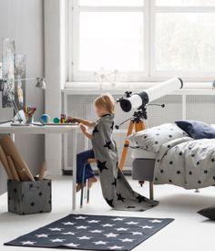 Stars Cotton Rug for Kids Room or Nursery | HM US