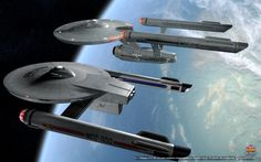 'crew transfers complete,the Enterprise-F leaves the solar system,bound for the very edge of known space. 'after two days at high Warp,a distress signal from near the old Romulan Neutral Zone requi...