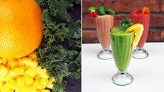 Smoothie med mango og grønnkål