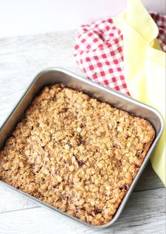 7 Perfect Make-Ahead Oatmeal Breakfast Bakes For Easy Mornings Healthy Recepies, Raw Food Recipes, Baking Recipes, Healthy Snacks, Snack Recipes, Breakfast Bake, Breakfast Recipes, Make Ahead Oatmeal, Recipes From Heaven
