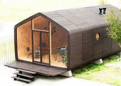 "Dutch studio Fiction Factory develops ""groundbreaking"" cardboard house concept"