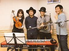 武田真治さんと岡部磨知さんと生演奏させて頂きました!いかがでしたでしょうか?お聴き頂いた皆さま、ありがとうございました!武田さん、岡部さん、砂山さんもありがとうございました!
