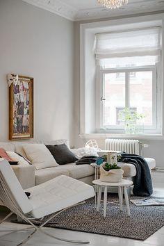 Feminine One Bedroom Apartment Design In Sweden | Interior Design Files