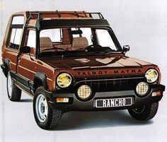 Used to love this pioneering SUV - Talbot Matra Rancho