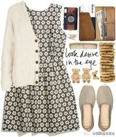 Designer Clothes, Shoes & Bags for Women Quirky Fashion, 90s Fashion, Korean Fashion, Vintage Fashion, Fashion Outfits, Fashion Black, Style Fashion, Dress Outfits, Fall Outfits