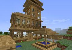 minecraft village buildings houses build huge blueprints villages easy plans villagers games modern creations fan stuff architecture
