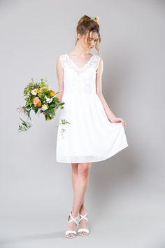DAISY wedding dress by Sally Eagle Bridal White Bridesmaid Dresses, Bridesmaids, Wedding Dresses, Daisy Wedding, Perfect Wedding Dress, Bridal Collection, Sally, Wedding Inspiration, Wedding Ideas