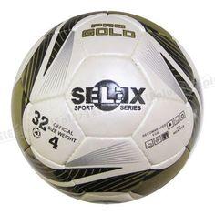 Selex Pro Gold Dikişli 4 No Futbol Topu - Topun boyutu: 4 No (8-12 yaş arası)  Yüzeyi: Poliüretan deri, lateks iç lastik  Ağırlığı: 409 gr  Kullanım alanları: Her türlü zeminde kullanıma uygun  Federasyon onayı: Yok  Diğer özellikleri: Makine dikişli, 32 parça, beyaz-siyah-altın renkte futbol topu  Satın alacağınız topların sibobunuvazelinile kayganlaştırarak ve mutlakatop iğnesikullanarak şişiriniz.Topu kullanmadan şişik vaziyette 24 saat bekletiniz. - Price : TL66.00. Buy now at…