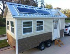 Americana Tiny Home For Sale on eBay  - Tiny House Talk 12/15/2012). 8'x191/2', 8'x7' sleeping loft. dolor electricity, propane.
