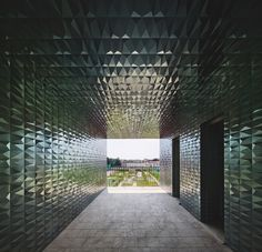 FX Magazine awarded prizes to AA's Marseille Docks and Diamante Boa projects 3d Tiles, Blue Tiles, Hotel Canopy, Pavilion Design, Interior Design Awards, Chinese Restaurant, Life Pictures, Trellis, Wall Decor