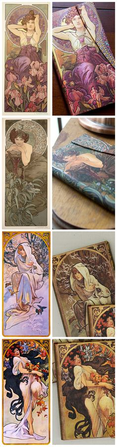 Paperblanks' Mucha Collection of writing journals