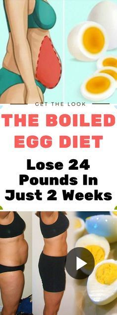 The Boiled Egg Diet – Lose 24 Pounds In Just 2 Weeks !!!