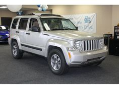 Congrats on your car, Natalie!!! 2008 Jeep Liberty Sport Bright Silver Metallic | my new ride- so camping with this!!