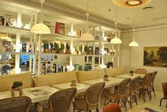 El Blog de los Muebles de Hostelería: Dry Martina, un resturante con mucho estilo