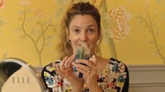A Totally Barefaced Drew Barrymore Shows Us How to Apply Makeup With Your Hands