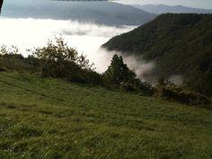 Sulle montagne vicino borgotaro