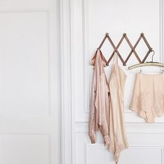"""""""So many pretty silky things in the shop right now 