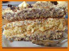 Tort orzechowo - kokosowy - Zdjęcie 1 z 2 - przepisy.net