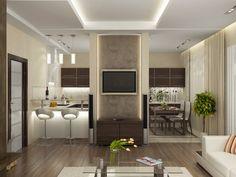 У кого кухня-гостиная 18, 19, 20 м? Покажите, пожалуйста!!! - страница 2
