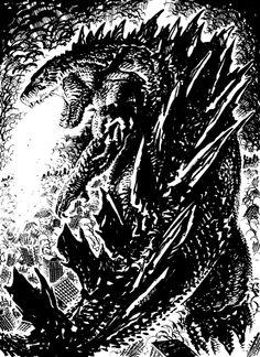 Godzilla by Francesco Biagini