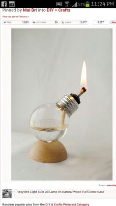 Lightbulbs are also candles... you didn't know?!