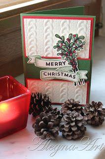 AlegnaArt: Traditionelle Weihnacht, Stampin´ Up!, Karte, Weihnachten, basteln in Burgbrohl
