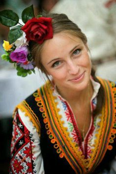 Bulgarian folk costume is the garments that were worn in Bulgarian villages until the beginning of the 20th century. V