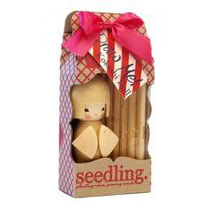 Seedling Draw Me! Kokeshi Doll - Good Things for Kids