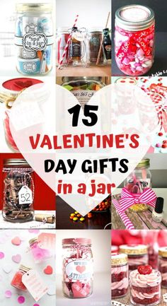Valentine's Day mason jar gifts that are creative, unique and make a fun gift for your Valentine! Try these inexpensive DIY Valentine's gifts in a jar today for the best Valentine's Day ever in is the perfect Valentine's gift in a jar for him! Funny Valentine, Diy Valentine Gifts For Boyfriend, Unique Gifts For Boyfriend, Valentines Day Gifts For Friends, Valentines Gifts For Boyfriend, Valentines Diy, Boyfriend Gifts, Handmade Valentine Gifts, Ideal Boyfriend