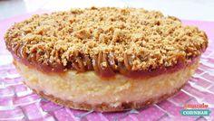 Cheesecake de doce de leite e paçoca - Amando Cozinhar - Receitas, dicas de culinária, decoração e muito mais!