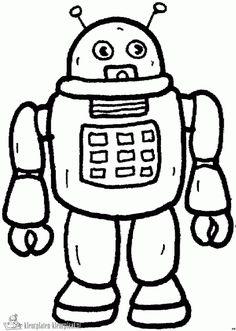 Kleurplaten Robots Afdrukken.36 Beste Afbeeldingen Van Robots Kleurplaten In 2019 Kleurplaten