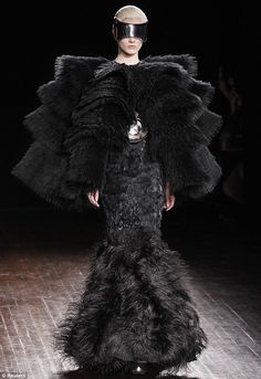 Sarah Burton for Alexander McQueen; love her outrageously fantastical yet feminine style - always flattering. Spring 2012
