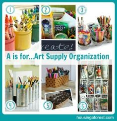 crafts supplies