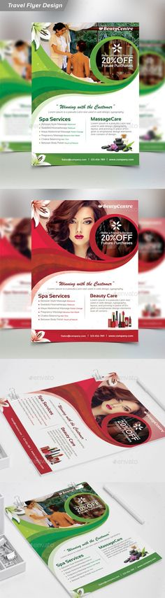 Beauty Salon Spa - Flyer  PSD Template • Only available here ➝ http://graphicriver.net/item/beauty-salon-spa-flyer/12025944?ref=pxcr
