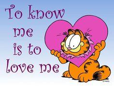 <3 <3 <3 <3 Garfield the Cat.