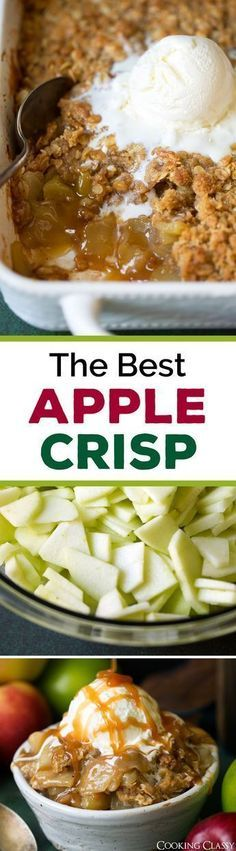 The Best Apple Crisp