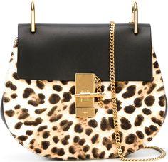 •Website: http://www.cuteandstylishbags.com/portfolio/chloe-leopard-print-drew-shoulder-bag/ •Bag: Chloé Leopard Print 'Drew' Shoulder Bag