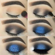 52 Natural Eye Makeup Step by Step for Beginners - - Simple Eye Ma . - 52 Natural Eye Makeup Step by Step for Beginners – – Simple Eye Makeup Tutorial Step by Step for Beginners, Eye Makeup Looks Ideas, Mak – # Beginners # Beginners # for Dramatic Eye Makeup, Eye Makeup Steps, Beautiful Eye Makeup, Simple Eye Makeup, Blue Eye Makeup, Smokey Eye Makeup, Makeup Eyeshadow, Blue Eyeshadow For Brown Eyes, Blue Eye Shadow