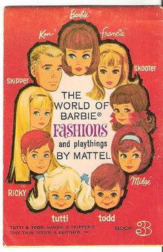 I want this booklet!- World of Barbie Fashions booklet 3