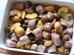Baked Italian Sausage and Potatoes Recipe
