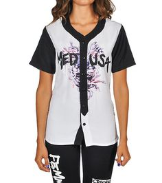 CROOKS AND CASTLES Medusa Tag Baseball Jersey Short sleeves Crew neck with ribbed collar CROOKS AND CASTLES logo detail Cotton for ultimate comfort Crooks And Castles, Baseball Jerseys, Swag Outfits, Jersey Shorts, Medusa, Adidas Jacket, Crew Neck, Short Sleeves, College