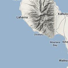 Bike Ride Profile   West Maui Loop near Lahaina