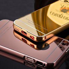 cadre de luxe en métal chromé ajoute acrylique transparent étui couverture de téléphone pour iPhone 5c (couleurs assorties) - EUR € 4.89